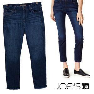🌿Joe's Jeans straight Raw Hem Ankle Jeans Farrah